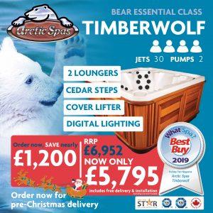 bear essential class! – timberwolf 30! – pre-christmas offer!