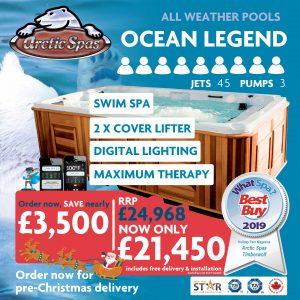 bear essential class! – ocean legend – pre-christmas offer!