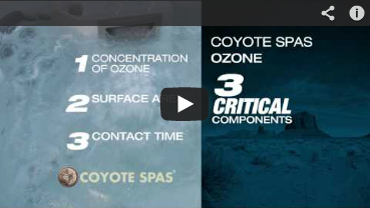 Coyote Hot Tub Advanced Ozone Purification